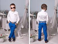 брюки высокого качества, с КОСТЮМНОЙ турецкой ткани,100% коттон, шикарная посадка., 2 цвета Евлад №2191