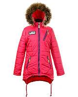Зимняя куртка для девочек 2017-2