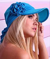 Женская летняя бандана с козырьком, цвета в ассортименте