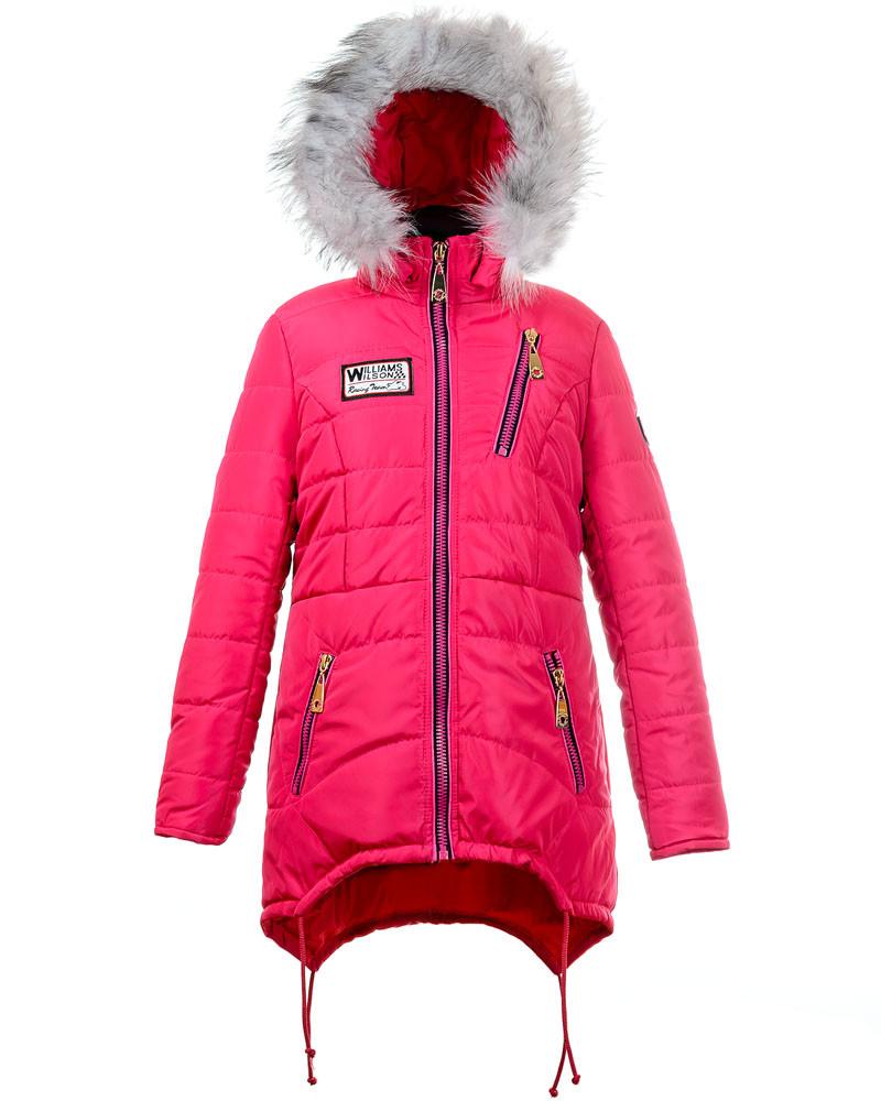 Зимняя куртка для девочек 2017-4