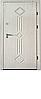 Двері Еліт клас - Б86 (Біле дерево)