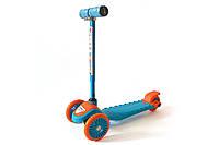 Самокат детский 3-х колёсный Bavarspor mini Синий