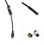Водонепроницаемый USB эндоскоп 3.5 м  7 мм , фото 3