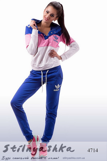Брендовые повседневные спортивные костюмы для женщин и девушек оптом ... 6071b7ec2f600