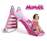 Детская Горка с водным эффектом  Minnie 180см