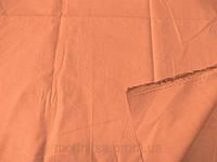 Поплин - стрейч (персик) (арт. 12339) отрез 1,5 + 1,0 м