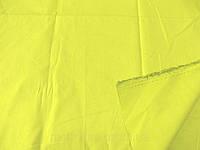 Поплин - стрейч (желтый) (арт. 12340) отрез 1,15 м