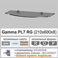 Полка стеклянная Commus PL7RG