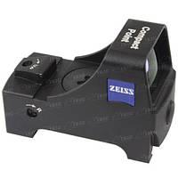 Приціл коліматорний Zeiss Compact-Point Standard з кріпленням під планку Weaver