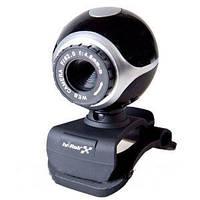 Компактная веб камера для компьютера Hi-Rali HI-CA005, подключается без драйверов через USB