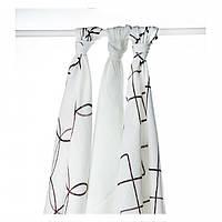 Бамбуковые пеленки XKKO® вмв коллекция Круги и квадраты 70x70 ... 004e9be788e