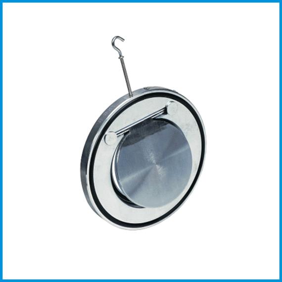 Клапан обратный стальной межфланцевый Ду 80