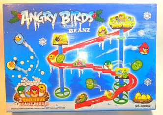 Бобы с трассой Angry Birds. Трек веселые крутые бобы JH2862 Angry birds