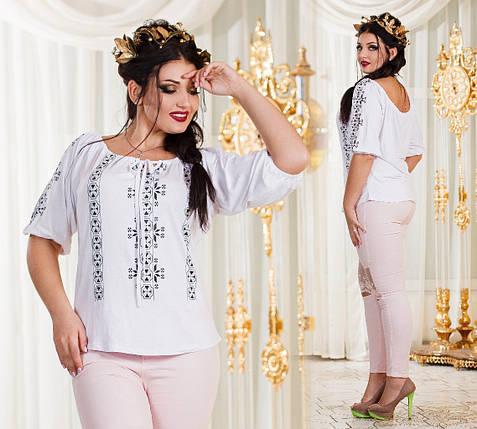 Женская блуза батал, фото 2