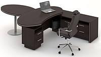 Стол руководителя Идеал 3 (стол 2000*2834*774Н)