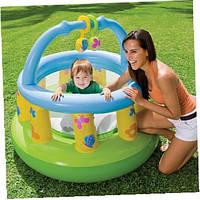 Манеж надувной для малышей Intex 48474