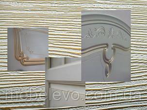 Зеркало Луиза патина 700х950х20мм белое дерево Світ Меблів, фото 2