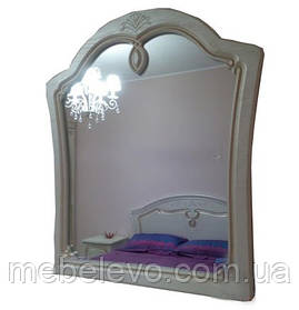 Зеркало Луиза патина 700х950х20мм белое дерево Світ Меблів