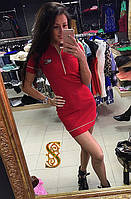 Модное платье Томми (3 цвета)