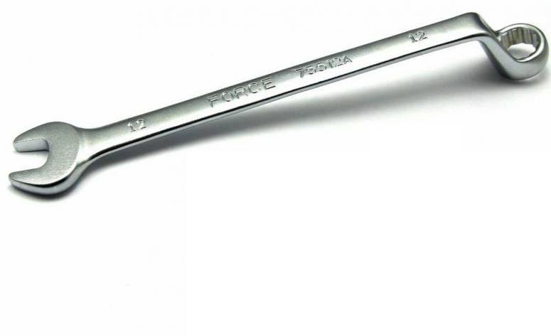 Ключ рожково-накидной отогнутый FORCE 75513A на 75° 13 мм, L=190 мм, фото 2