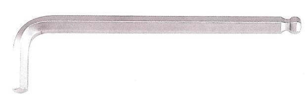 Ключ FORCE 765015XL 6-гр. (HEX) Г-обр. с шаром экстрадлинный 1.5 мм, L=14/90 мм, фото 2
