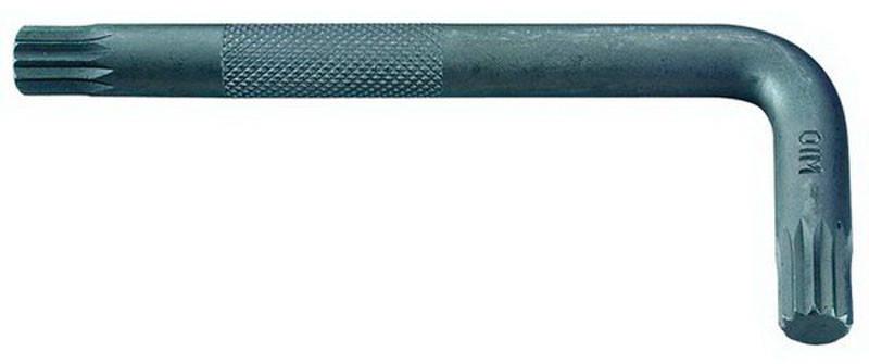 Ключ FORCE 76812K Spline Г-обр. М12, L=47/107 мм, фото 2