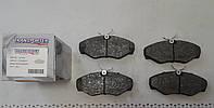 Передние колодки Рено Трафик / Renault Trafic / Opel Vivaro 2001- Польша Transporterparts 04.0154