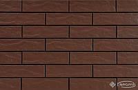 Cerrad фасадная плитка Cerrad Brown 24,5x6,5 коричневая рустикальная