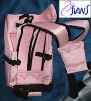 Рюкзак-кенгуру для переноски детей Womar № 6 нежносиреневый (розовый) Польша 641