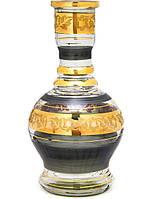 Колба для кальяна Khalil Mamoon Jumbo Black-Gold