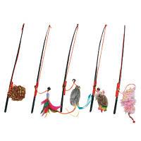 Karlie-Flamingo (Карли-Фламинго) FISHING-ROD игрушка для кошек, удочка дразнилка с игрушкой