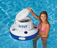 Надувной плавающий бар холодильник Intex 58820