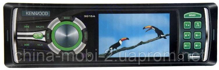Видеомагнитола Kenwood 3015A MP3 SD USB AUX FM MP5