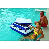 Надувной плавающий бар на всю компанию Intex 58821