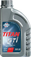 Моторное масло FUCHS TITAN GT 1 PRO C-2 5W30 1L для автомобиля синтетика