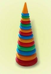 Пирамидка конус №4, 61 см