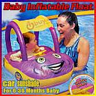 Надувной круг детский автомобиль для маленьких детей от 1 года, фото 4