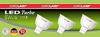 Промо-набор LED Лампа EUROLAMP MR16 3W GU5.3 4000K (3в1)