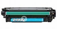 CE401A Заправка картриджа HP 507A для HP CLJ Pro 500 M575, M551 синий