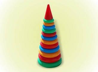 Пирамидка конус №3, 46 см