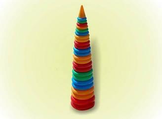 Пирамидка конус №5, 100 см
