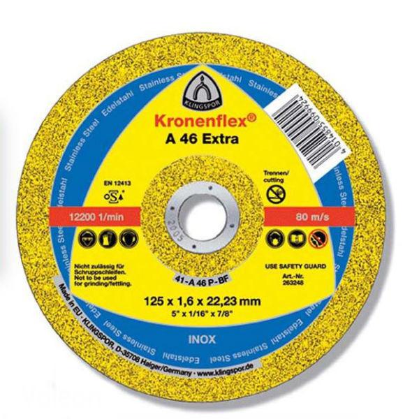 Отрезной круг Klingspor A 46 Extra 115X1,6X22,23 GER