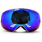 Очки лыжные двойная незапотевающая линза, фото 10