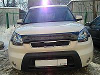 Дефлектор капота (мухобойка) KIA Soul 2009-2012