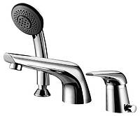 IMPRESE  SOLNICE (I85210)  смеситель для ванны, врезной, на три отверстия,  хром, 40 мм (Чехия)