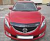 Дефлектор капота (мухобойка) Mazda 6 2008-2012