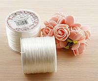 Резинка спандекс белая (1мм) - 3 метра (товар при заказе от 500грн)