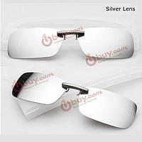 Накладка на очки солнцезащитная пристегивающаяся