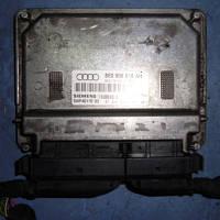 Блок управления двигателем ( ЭБУ )Audi A4 1.6 8V2001-2004Siemens 8e0906018ah, 5WP4017003 (мотор ALZ)