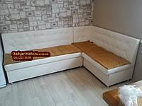 Оригинальные кухонные уголки со спальным местом и полочкой купить в Украине по ценам производителя